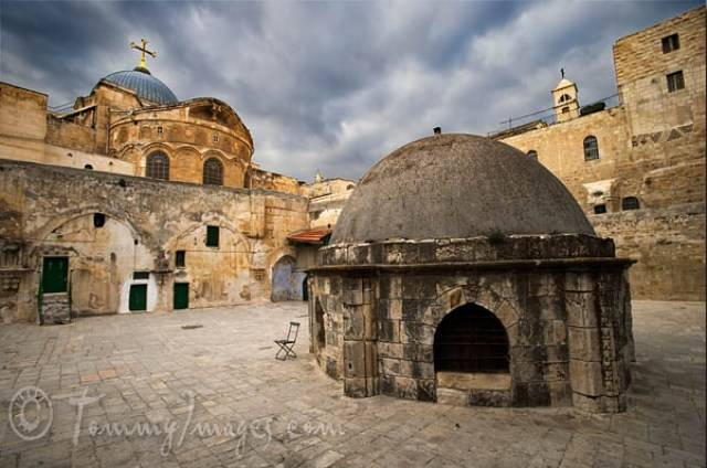 Rooftop of the Holy Sepulchre Church