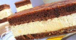 Млечна Киндер торта