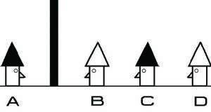 Загатка за интелигентни: Четворицата мажи со капи