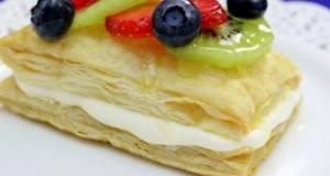 Овошни тортички од лиснато тесто