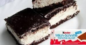 Kinder Milchschnitte: Совршен млечен десерт