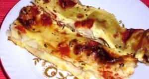 Највкусните потпечени палачинки со шунка и сирење
