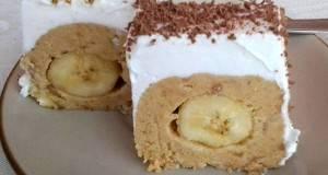 Без печење: Скриени банани со плазма и ореви