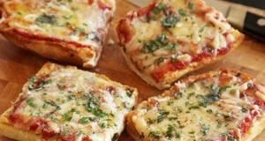 Искористете го стариот леб за превкусна и крцкава мини пица