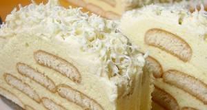 Леден брег – кремаст колач со Плазма