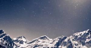 Најубавото ѕвездено небо се гледа од Хималаите