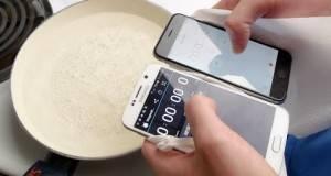 """Samsung Galaxy S6 и iPhone 6 сварени во вода буквално. Што мислите, дали некој """"преживеал""""?"""
