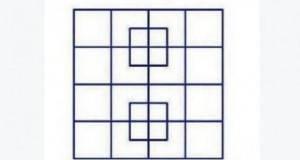 Ако успеете да изброите колку квадрати има на сликата, вие сте гениј!