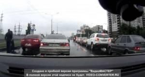 Мислеше дека е газда на рускиот асфалт, но не знаеше што ќе го снајде потоа!
