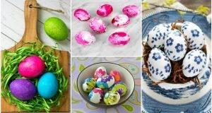10 нови техники за боење на велигденските јајца кои сигурно не сте ги пробале