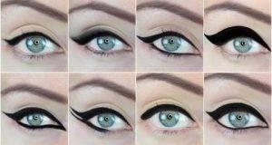 10 различни начини како да ги исцртате професионално очите со туш