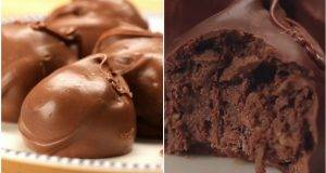 Чоколадни бомбици со вкус на Фереро Роше