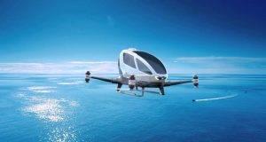 Ehang 184: Патничкиот дрон станува реалност