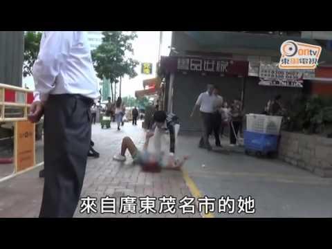И раскина момчето, па доживеа нервен слом на улица!