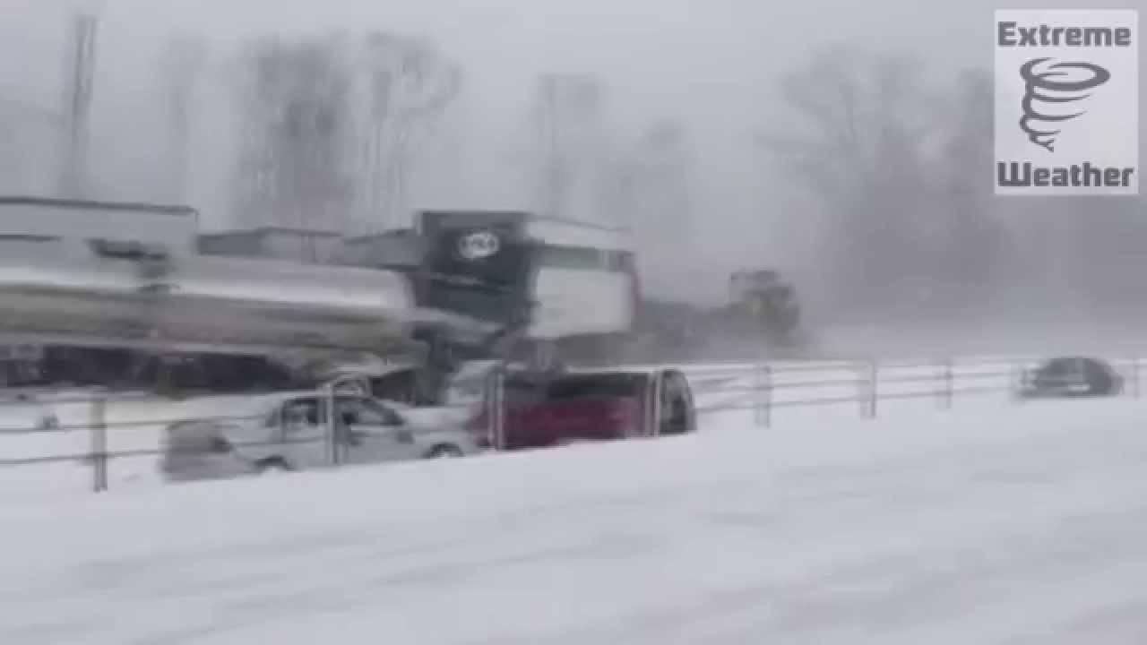 Еве зошто СЕКОГАШ треба да бидете внимателни кога возите по снег! Ова може да му се случи на секого!