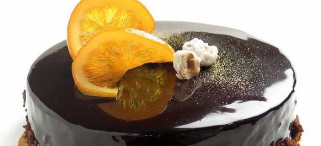 Торта со портокал и чоколадо