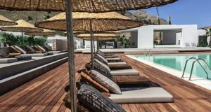 Боемски хотел на грчкиот остров Родос