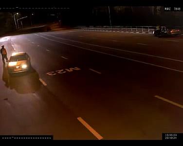 Полицаец запирал автомобили на пат ноќе – за малку ќе го изеделе волци!