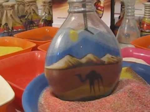 Ставил песок во шише, а она што го направил е магично!