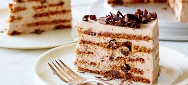 Чоколадна капучино торта