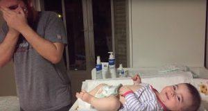 Сосем случајно се вратил во собата на бебето и за малце не се онесвестил кога го видел ова!