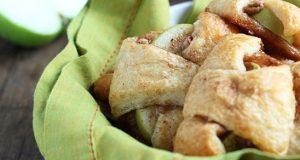 Слатки мини кифлички со јаболко и цимет