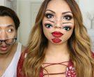Веројатно  најинвентивниот трик со шминка што постои