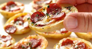 Рецепт на денот: Печени пица компири