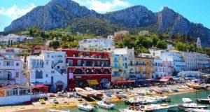 Шармот на малиот италијански остров Капри