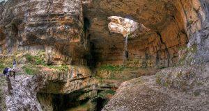 Пештерата со три моста во Либан која се претвора во магичен водопад