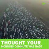 Е ОВА Е ГУЖВА: Еве како изгледа шпиц на автопат со 50 траки!
