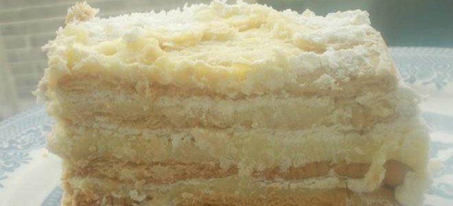 Торта за 15 минути од бисквити и павлака
