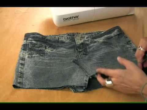 Секси здолниште од стари фармерки
