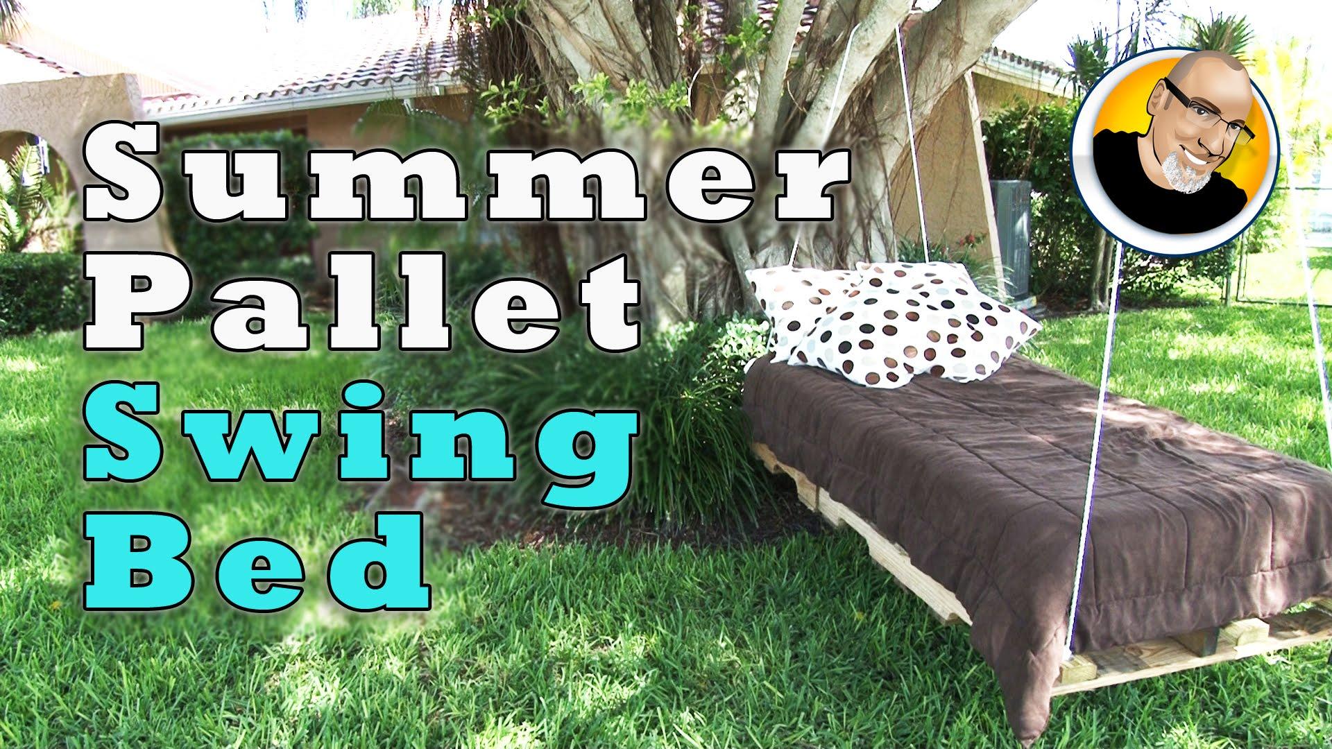 Споил две дрвени палети и направил нешто совршено за летните денови! Генијално!