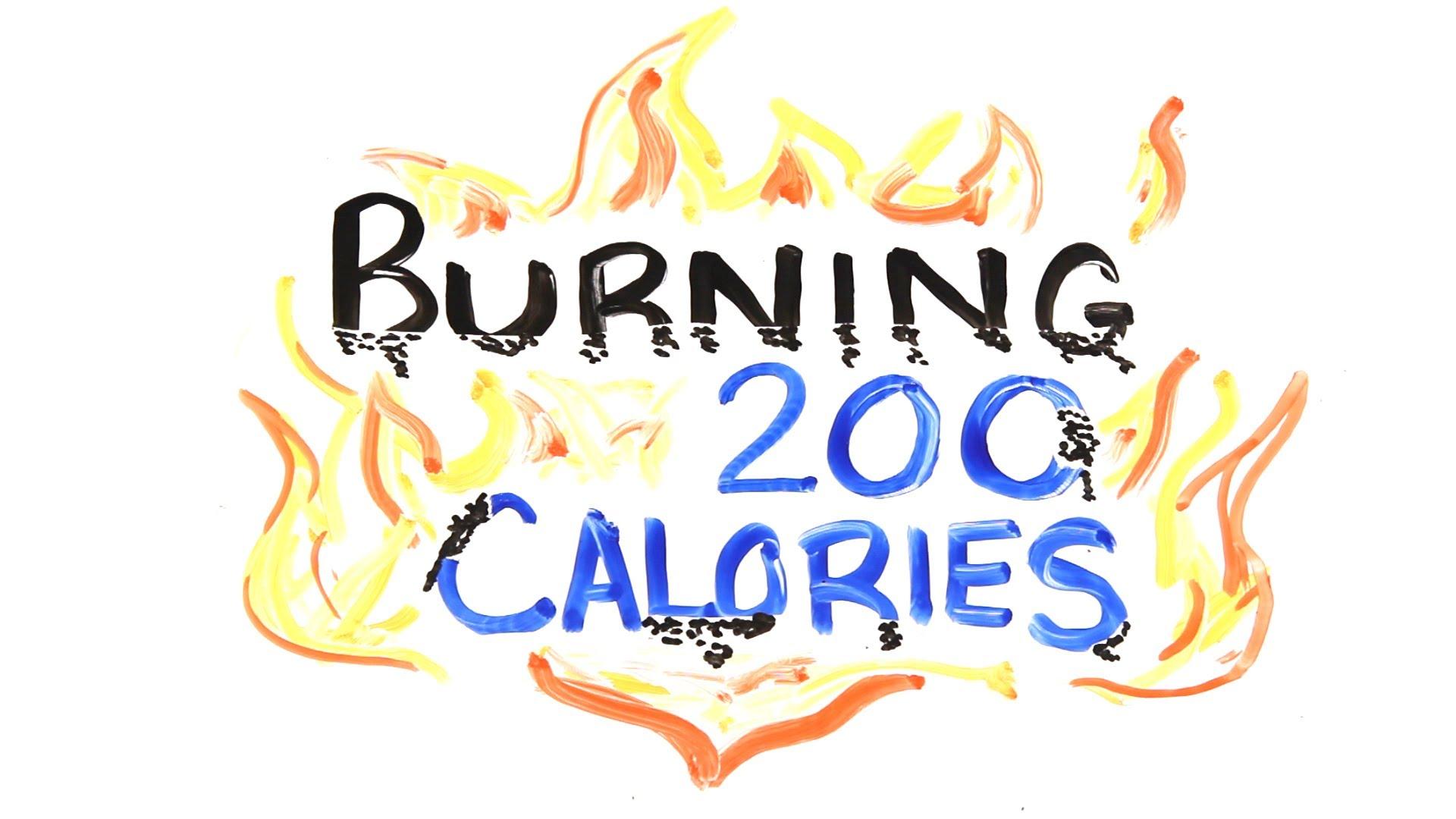 Вака се топат 200 калории!:)