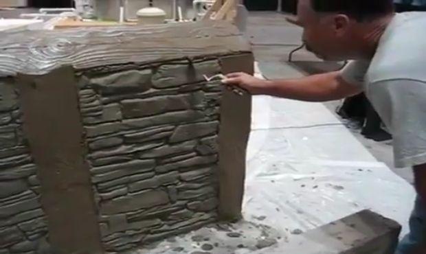 Ваква техника за декорација на ѕидовите уште не сте виделе!