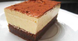 Лесен десерт без брашно: Баварска торта