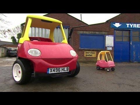 Автомобил играчка што може да достигне до 70 километри на час (110 километри на час) .. и е штедлив!