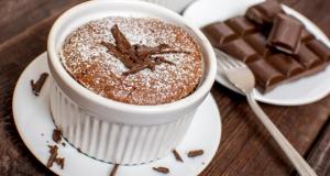 Без брашно: Чоко суфле од само 2 состојки