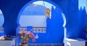 Шефшауен: Град во стотина нијанси на сина
