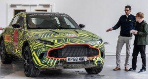 Aston Martin го започна тестирањето на својот прв SUV модел