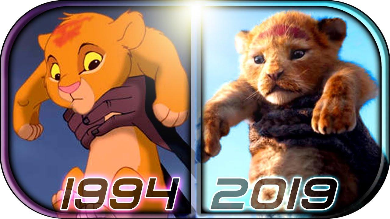 Еволуција на цртаниот филм The Lion King