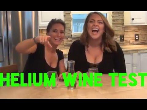 Овие жени пијат хелиум – вино