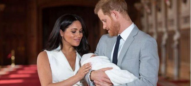 """Уште една """"навреда"""" за кралското семејство: Плановите на Меган Маркл за малиот Арчи нема да им се допаднат на Британците"""
