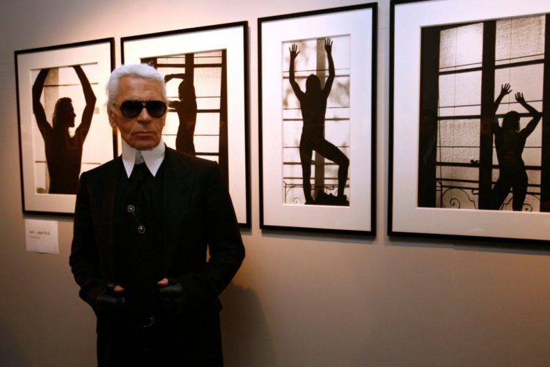 Karl Lagerfeld Photo Exhibition Opening - Lille