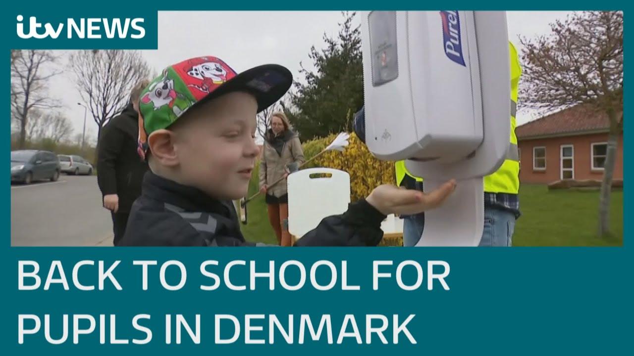 Данска ги врати децата во училиште но ништо повеќе не е како порано! Видете како тоа изгледа во стварност! (Видео)