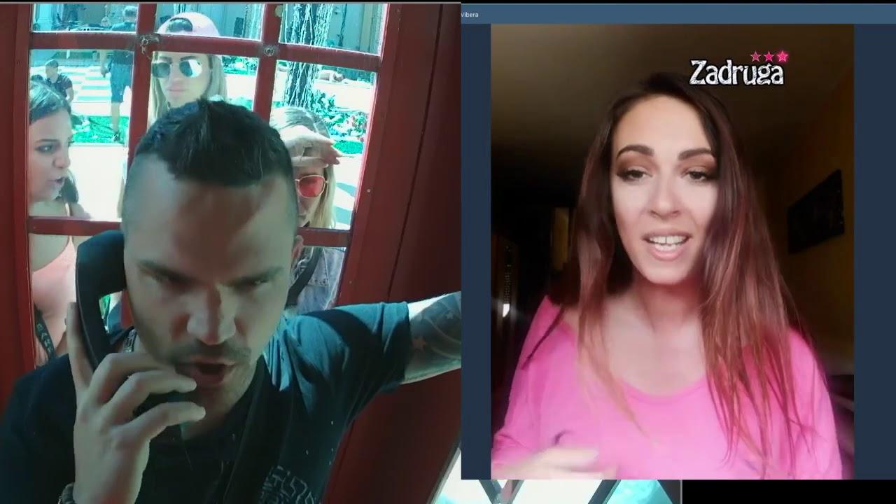 Како изгледа кога две личности со сомнителни психолошки квалитети, во живо прават прекин на својата врска :) (видео)