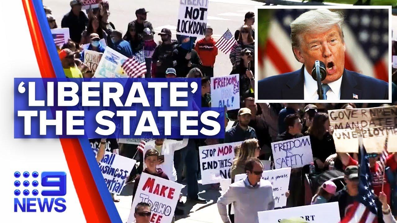 Што се случува во САД? Илјадници Американци на улиците, многу од нив со оружје