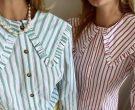 Како се носат познатите кошули со голема јака?