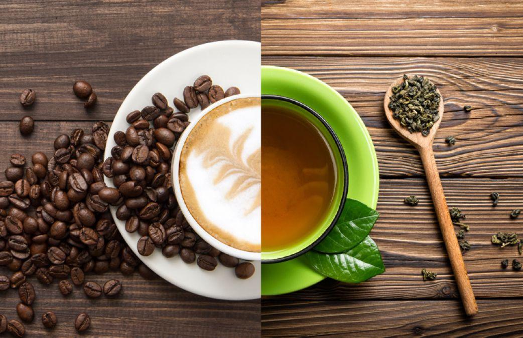 tea of coffe